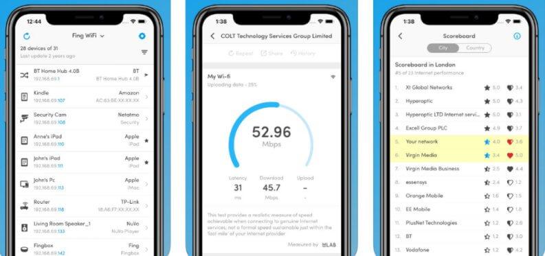 Vedere dispositivi collegati al router: Fing Android e Ios