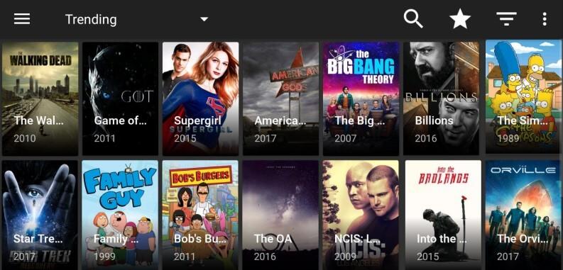App per serie TV: TitaniumTV
