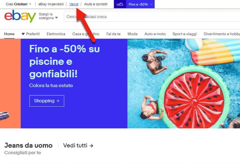 vendere libri usati su ebay