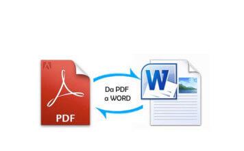 Come convertire da PDF a Word