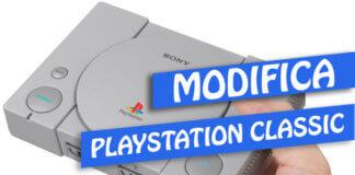 modifica playstation mini