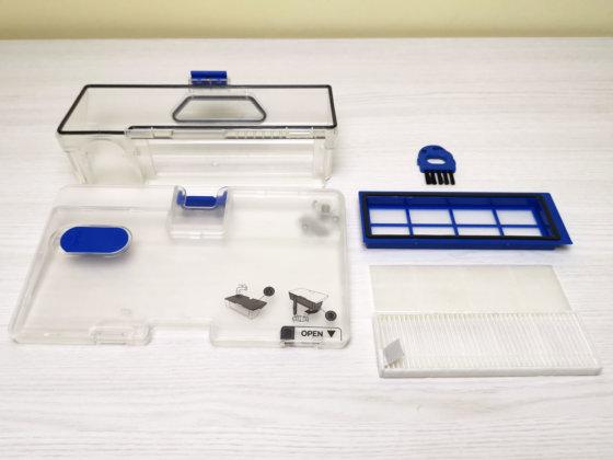 Eufy RoboVac L70 Hybrid serbatoio filtro