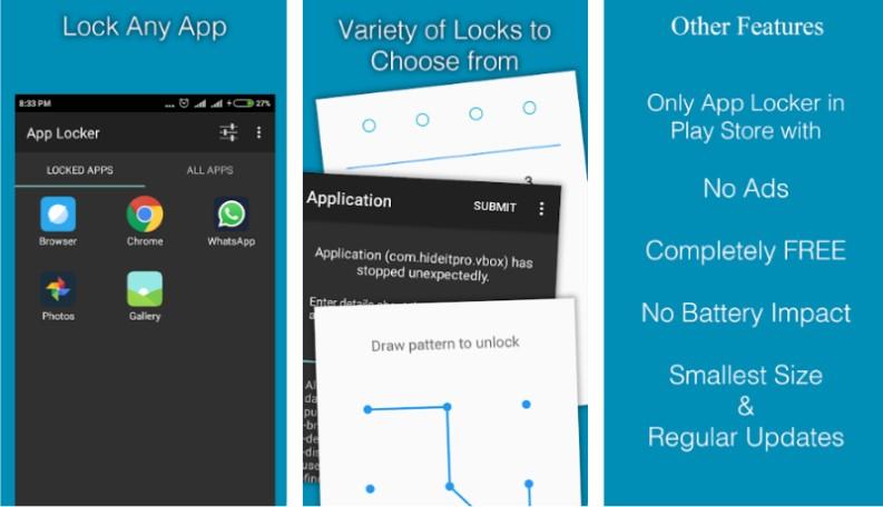 Lock App Blocco di Protezione