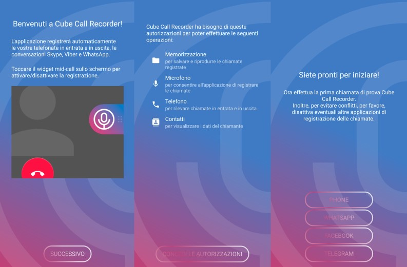 App Cube Call recorder