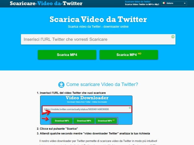 Scaricare video da Twitter su PC