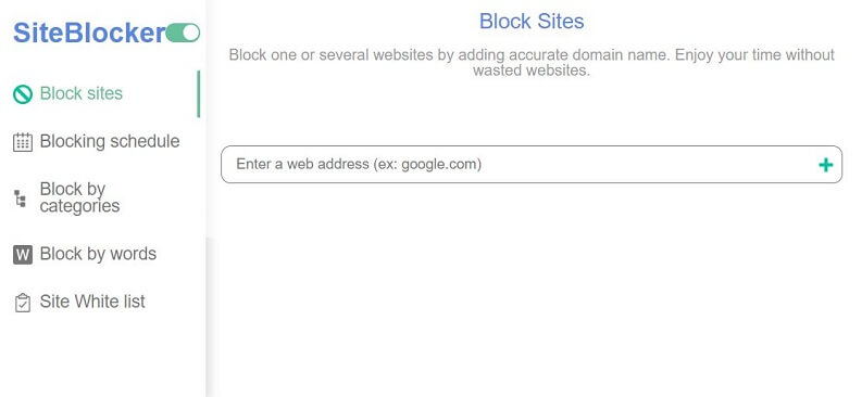 site blocker