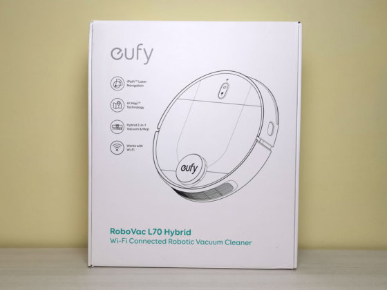 unboxing scatolo eufy l70