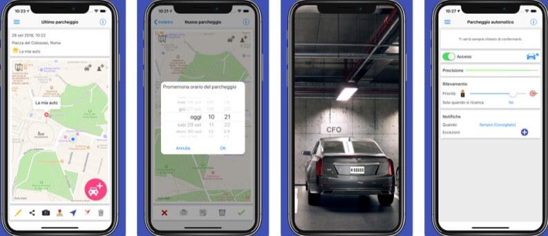 Le migliori app per localizzare auto: ParKing