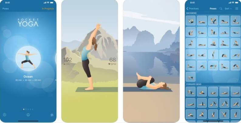 Posizioni Yoga: Pocket Yoga
