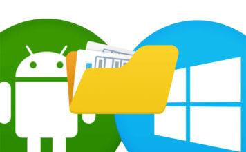 Accedere ad una cartella condivisa con Windows 10 da Android in WiFi
