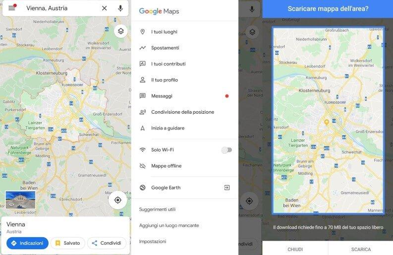 google maps per viaggiare