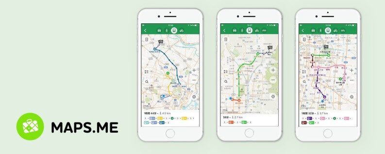 maps.me per app viaggi