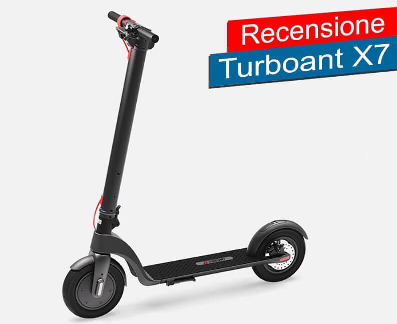 Recensione Turboant X7