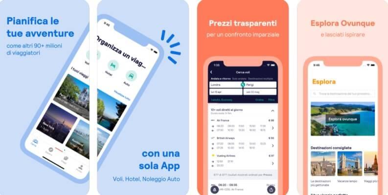 App per viaggi: Skyscanner