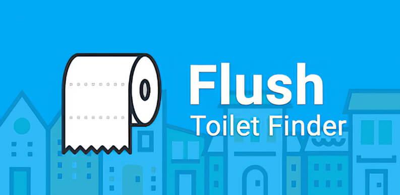 App per viaggi trova i bagni