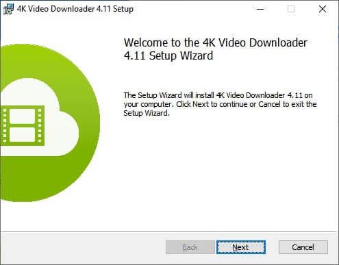 Installare 4K Video Downloader