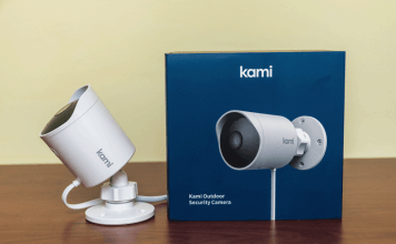 review Kami Outdoor Security Camera