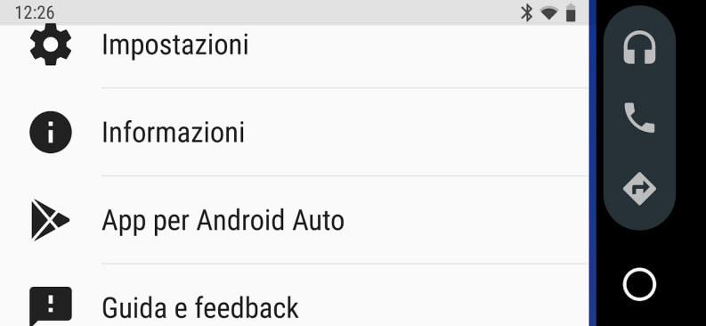 Applicazioni per Android Auto