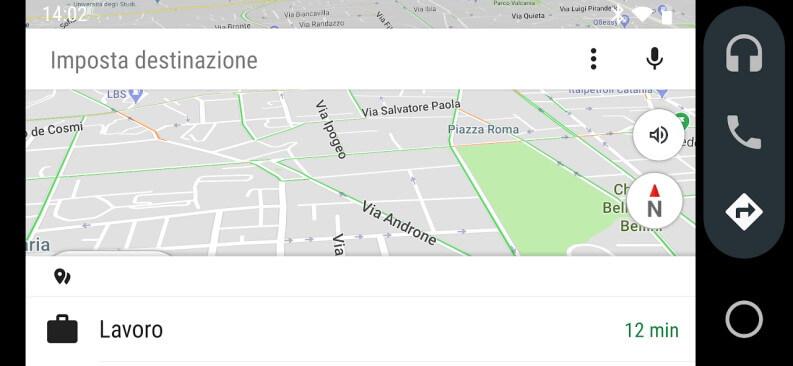 App di navigazione per Android Auto