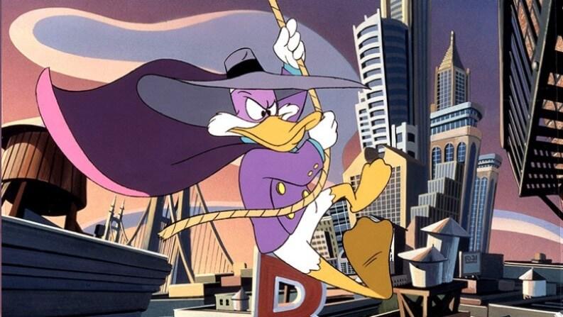 Darkwing Duck e serie da recuperare su disney plus