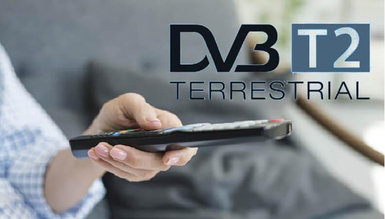 digitale terrestre DVB-T2 HEVC
