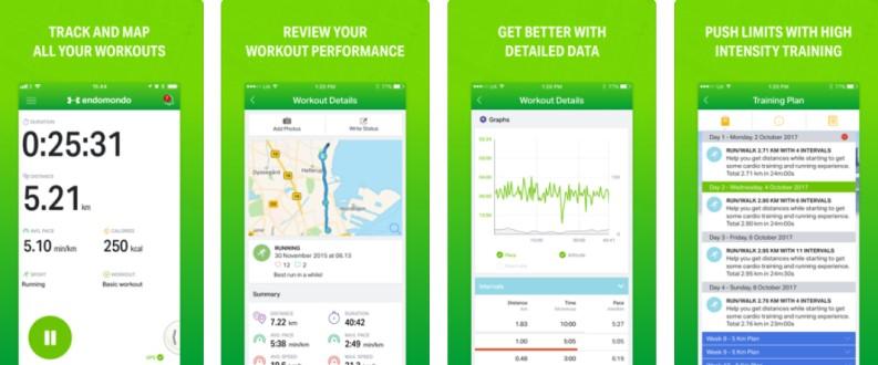 App per tracciare i percorsi: Endomodo