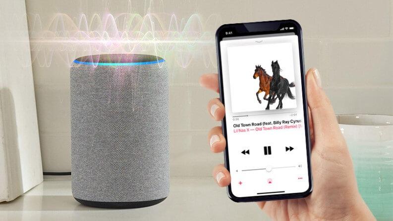 Ascoltare musica gratis con Alexa