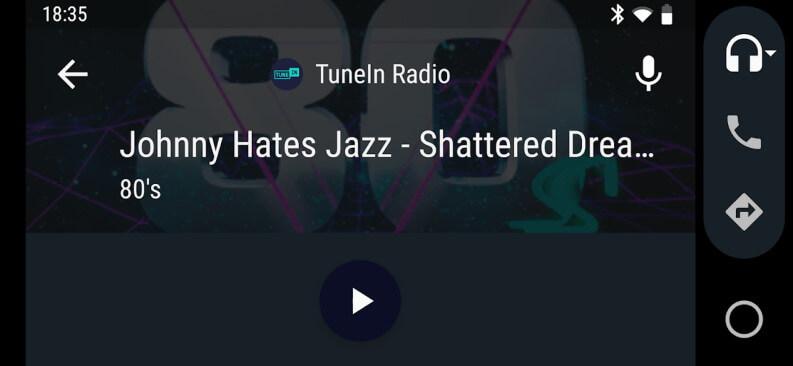 Ascoltare la radio su Android Auto