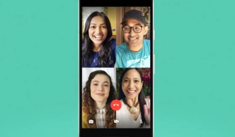 App videochiamate di gruppo: Whatsapp