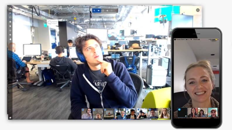 App per videochiamate di gruppo: Jitsi