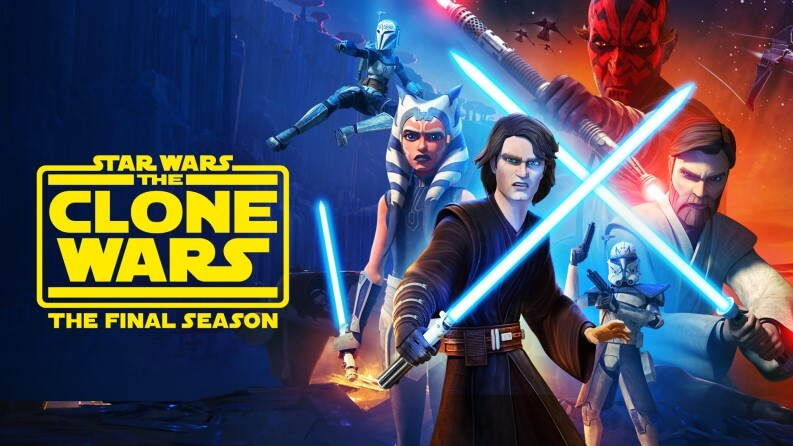 Serie da vedere su Disney+: The Clone Wars
