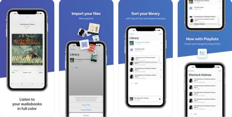 BookPlayer un ottimo lettore di audiolibri per iOS