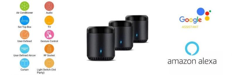 Alexa con controller Broadlink