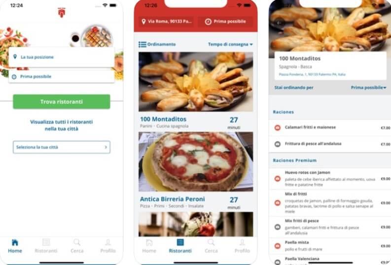 app per ordinare cibo a domicilio Social Food