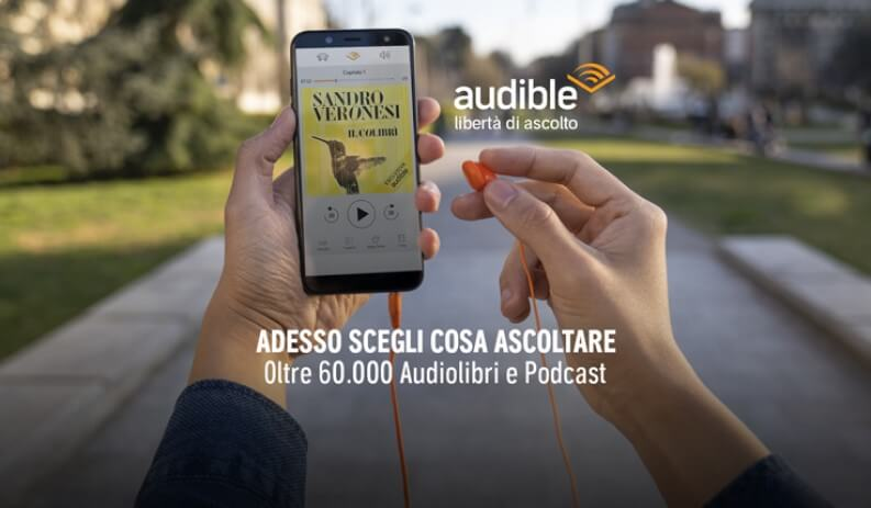 Audible: Podcast e Audiolibri