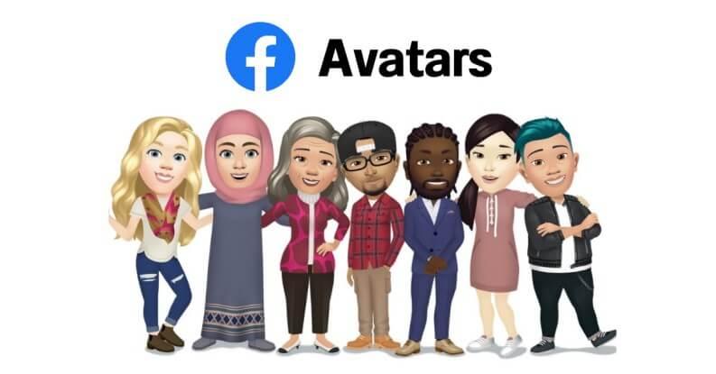 I nuovi avatar di Facebook