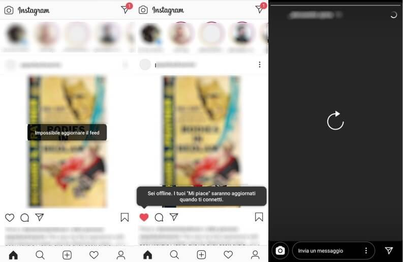 Cosa succede a Instagram quando è offline?
