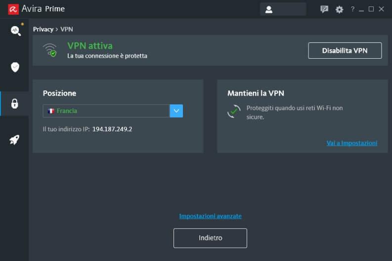 Avira Prime VPN Phantom Pro
