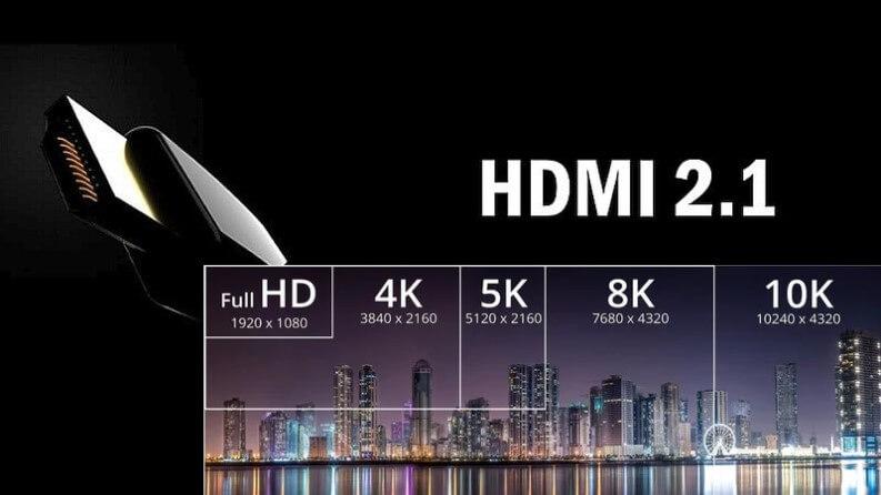 HDMI 2.1 Nuovo standard