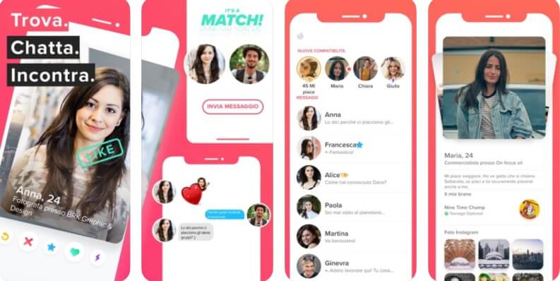 Le migliori app di incontri: Tinder