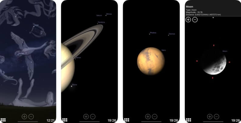App astronomia: Stellarium mobile