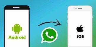 Trasferire chat WhatsApp
