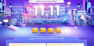Lo shopping festival 11.11 con tante offerte