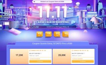 Gearbest: Shopping Festival 11.11 con tante offerte