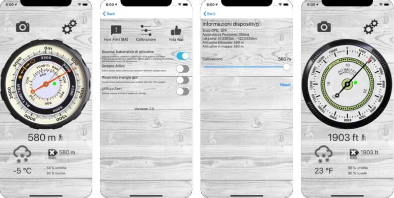Le migliori app per misurare l'altitudine su Android e iOS: altimetro pro