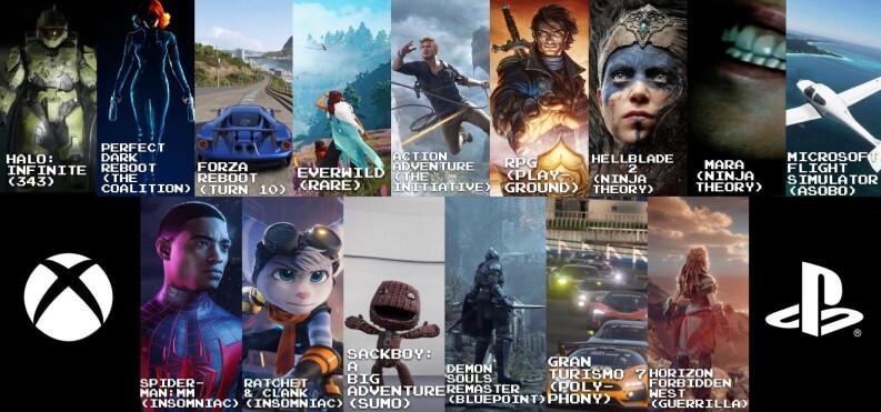 I servizi e le esclusive di PlayStation 5 e Xbox Series S