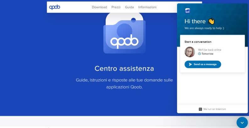 centro assistenza qoob