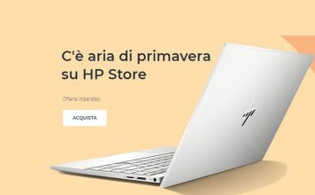 I saldi di primavera HP Store