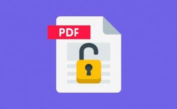 Come rimuovere la password ad un PDF protetto