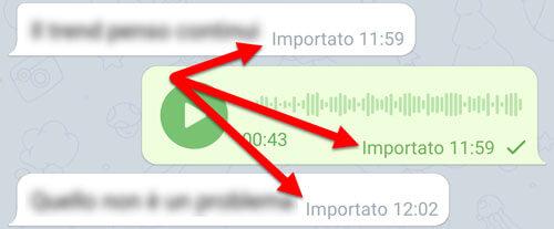 Chat Importata Da Whatsapp Su Telegram
